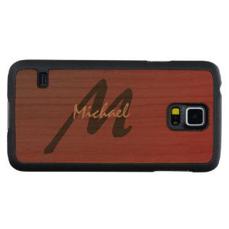 Simply Custom Personalized Monogrammed Cherry Galaxy S5 Slim Case