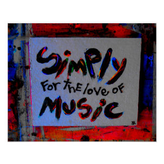 simply for the love of music poster