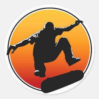Skateboarding stickers