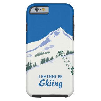 Ski Winter Scene iPhone Case