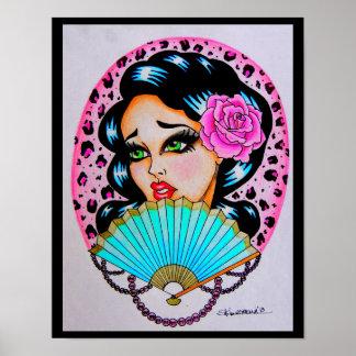 "Skinderella's ""Pretty in Pink"" print"