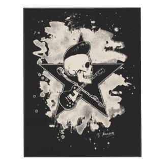 Skirt n roll Skull - bleached