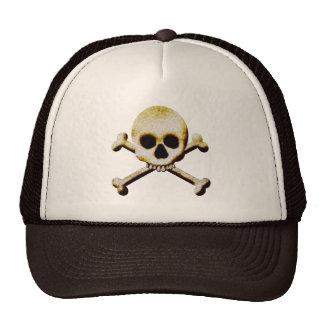 Skull And Crossbones Creepy Halloween Costume Cap