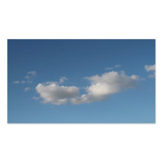 Sky and Clouds. Pack Of Standard Business Cards