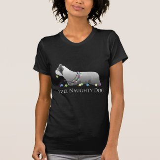 Skye Terrier Merry Christmas Design Tshirt