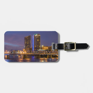 Skyline At Dusk, On The Grand River Tags For Bags