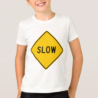Slow Highway Sign T Shirt