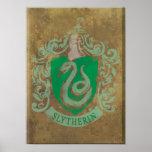 Slytherin Crest HPE6 Poster
