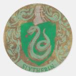 Slytherin Crest HPE6 Round Sticker