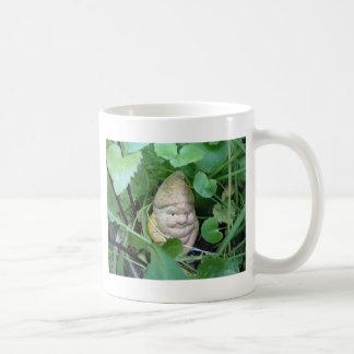 Small Garden Gnome Basic White Mug