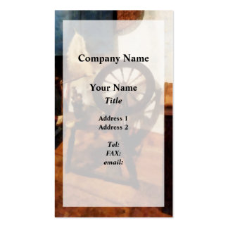 Small Spinning Wheel Overlay Pack Of Standard Business Cards