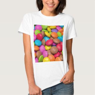 Smarties Candy background Tshirt