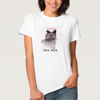 Smarty Cat Rule Tee Shirt