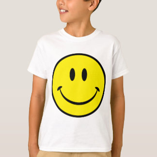 Smiley Happiness Face Tee Shirt