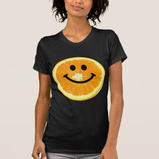 Smiley Orange Slice T Shirt