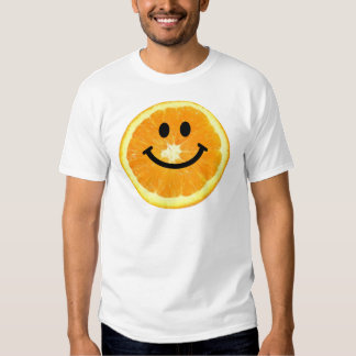 Smiley Orange Slice T-shirts