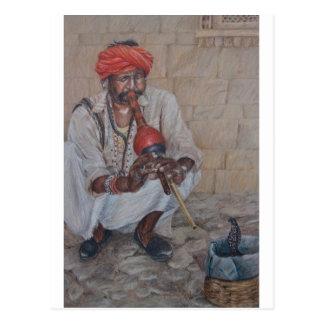 Snake Charmer, Jaipuir Postcard