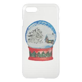 Snow Globe Crystal Ball Winter Village Christmas iPhone 7 Case