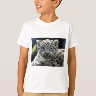 Snow Leopard Kitten T Shirt