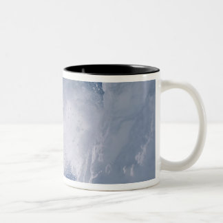Snowboarding at Snowbird Resort, Wasatch Two-Tone Mug