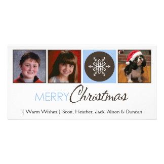 Snowflake Photo Greeting Card