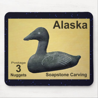 Soapstone Eider Duck Mouse Pad