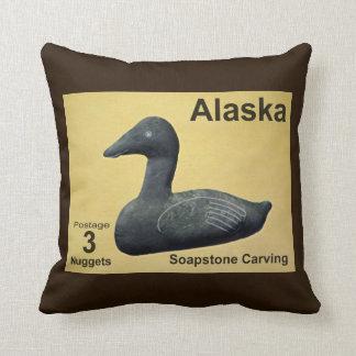 Soapstone Eider Duck Throw Cushions