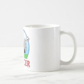 Soccer Basic White Mug