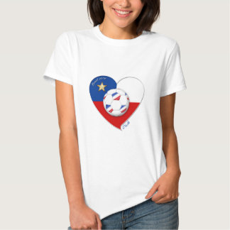 "Soccer ""CHILE"" 2014. National Chilean soccer team Tees"