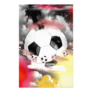 Soccer Universe Graphic Design Customised Stationery