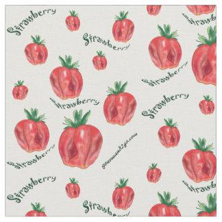 Soft Strawberries Fabric