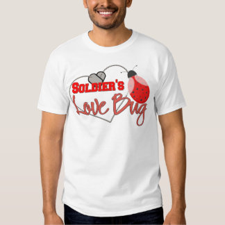 Soldier's Love Bug T Shirt