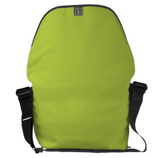 Solid Tender Shoots Green Courier Bags