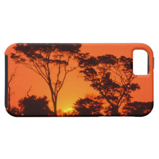 South Africa.  African sunset. Tough iPhone 5 Case