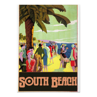 South Beach 13 Cm X 18 Cm Invitation Card