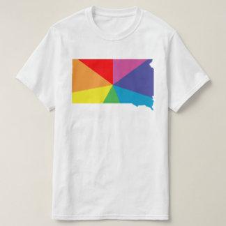 south dakota color burst t shirts