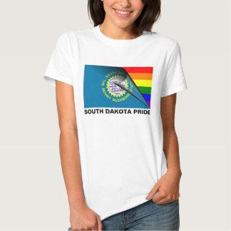 South Dakota Pride LGBT Rainbow Flag Tees