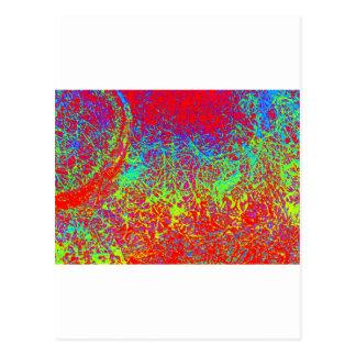 spectrum reversed elephant postcard