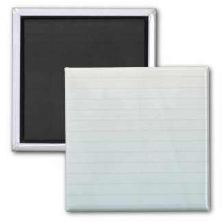Spiral Notebook Lined Paper Square Magnet