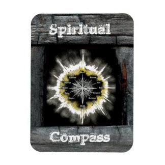 Spiritual Compass Rectangular Photo Magnet