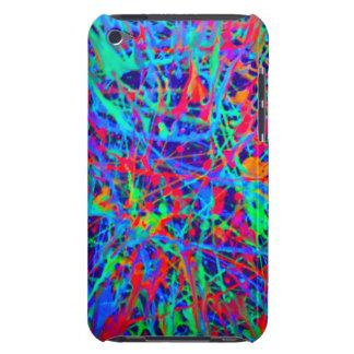 splatter ipod touch case