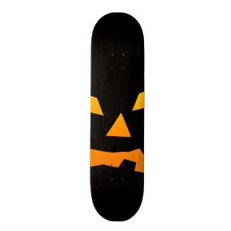 Spooky Jack O Lantern Halloween Pumpkin Face Skate Boards