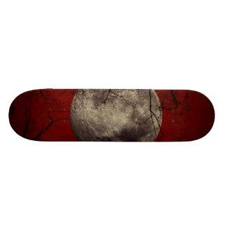 Spooky Moon Halloween Prints Skateboard Deck