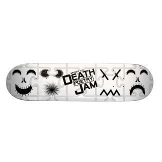 Spooky Z's Death Poetry Jam Skateboard