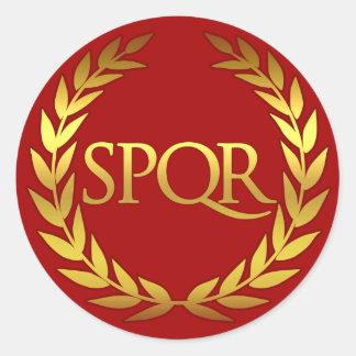 SPQR Roman sticker