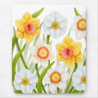 Spring Daffodils Mousepad
