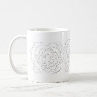 Spring Imagination - A Rough Rose Basic White Mug