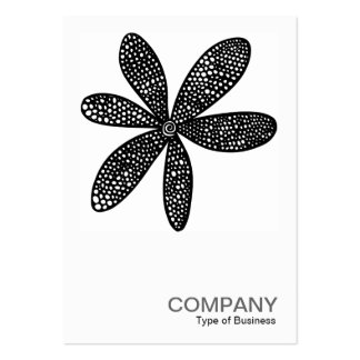 Square Photo 0205 - Pretty Flower Pack Of Chubby Business Cards