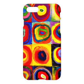Squares with Concentric Circles Kandinsky iPhone 7 Case