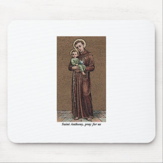 St. Anthony Pray For Us Mouse Pad